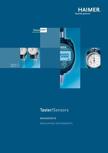 2011 Taster/Seηsors - Haimer GmbH
