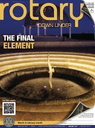 March 2012 issue 537 - Rotary Down Under