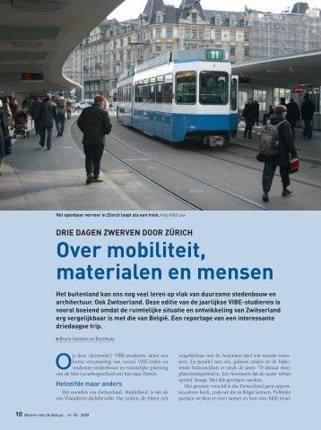 Over mobiliteit materialen en mensen