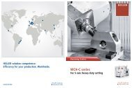 MCH-C series For 5-axis heavy-duty cutting Machining Centres ...