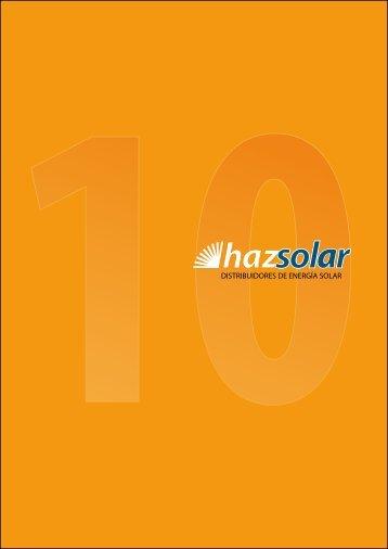 DISTRIBUIDORES DE ENERGÍA SOLAR - hazsolar