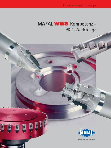 MAPAL Kompetenz– PKD-Werkzeuge