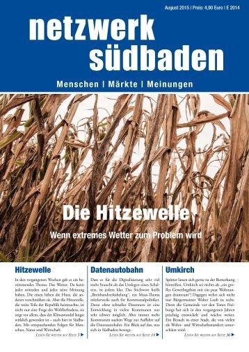 Netzwerk Südbaden - August 2015