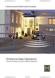 STA sliding gate operator - Garage Doors