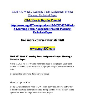 cmgt 555 week 2 team project Click the button below to add the cmgt 555 cmgt555 week 2 learning team assignment system analysis and development (phoenix) to your wish list.