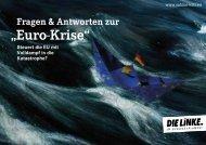 """""""Euro-Krise"""""""