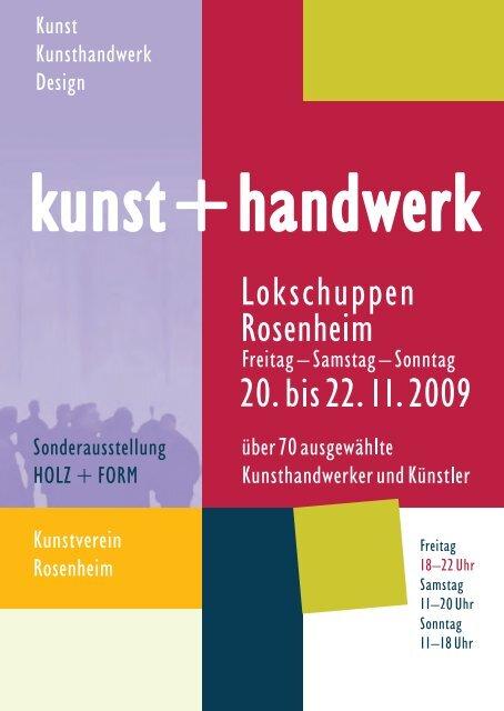 den Flyer zur Ausstellung herunterladen - Kunstverein Rosenheim