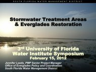 Presentation - UF Water Institute - University of Florida