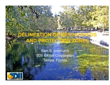 AND PROTECTION ZONES
