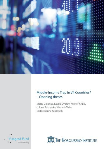 Middle-Income Trap in V4 Countries? – Opening theses