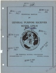 GENERAL PURPOSE RECEIVER - From tmchistory.org