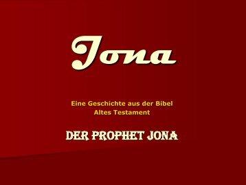 Der Prophet Jona - eine Bilderbuchgeschichte