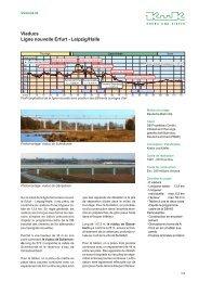 Viaducs Ligne nouvelle Erfurt - Leipzig/Halle