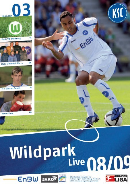 0809_st6 wolfsburg.pdf - Karlsruher SC