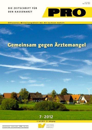 PDF , 2,3 MB - Kassenärztliche Vereinigung Sachsen-Anhalt