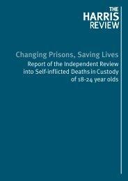 Changing Prisons Saving Lives