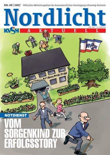 Nordlicht_06_2007.qxp - Kassenärztliche Vereinigung Schleswig ...
