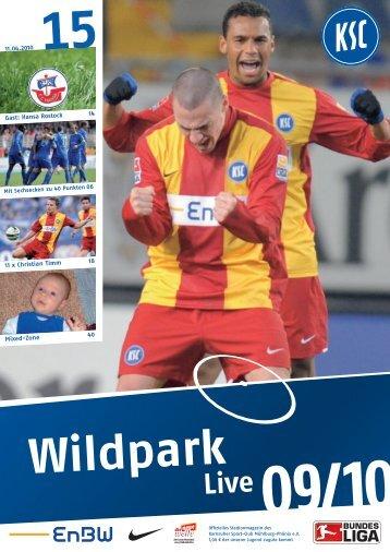 0910_st30 rostock.pdf - Karlsruher SC