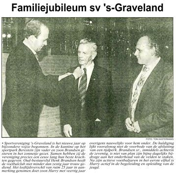 Familiejubileum sv 's-Graveland - Historische Kring In de Gloriosa