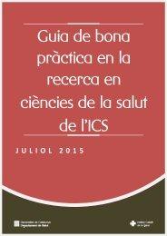 pràctica en la recerca en ciències de la salut de l'ICS
