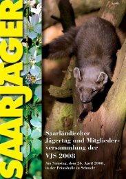 Saarländischer Jägertag und Mitglieder - Vereinigung der Jäger des ...