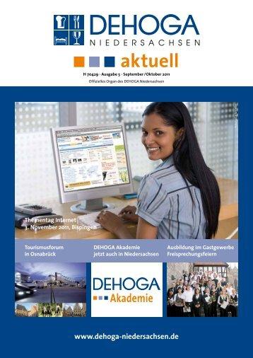 DEHOGA Magazin Nr. 5 September/Oktober 2011 - DEHOGA ...