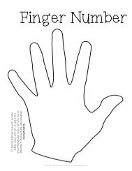 Finger Number Beanbag Game - Color In My Piano