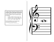 Jumbo Note-Naming Flashcards - Color In My Piano