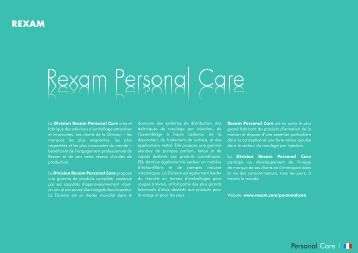Facial Care product catalogue - French version