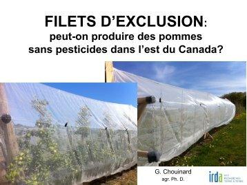 FILETS D'EXCLUSION