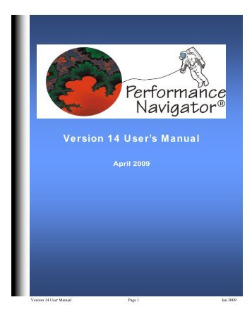 Version 14 User's Manual