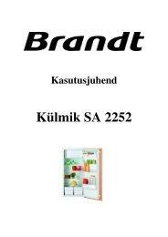 Külmik SA 2252