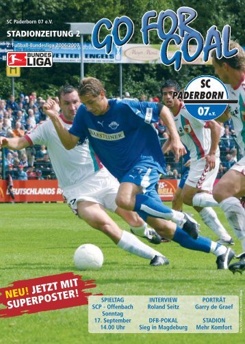 SCP 2:0 - SC Paderborn 07