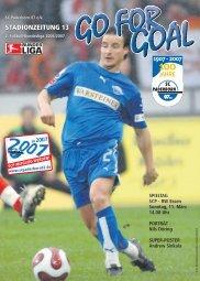 STADIONZEITUNG 13 - SC Paderborn 07
