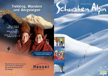 Trekking, Wandern und Bergsteigen - DAV Sektion Schwaben