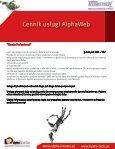 Komfort obsługi dzięki usłudze AlphaWeb - Page 4