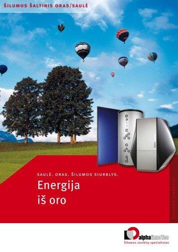 Energija iš oro