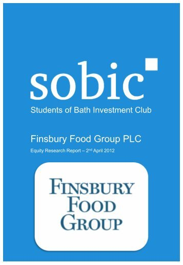Finsbury Food Group PLC