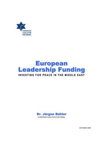European Leadership Funding