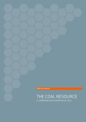 THE COAL RESOURCE