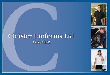 Cloister Uniforms Ltd