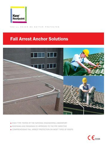 Fall Arrest Anchor Solutions