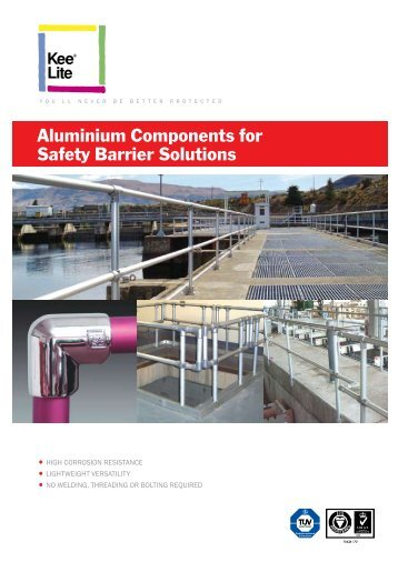 Aluminium Components for Safety Barrier Solutions