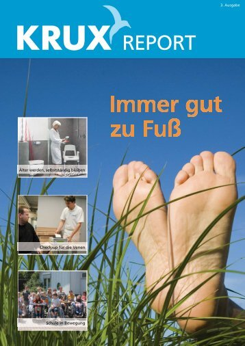 KRUX report - KRUX Sanitätshaus