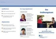 Das Ernährungsteam - Klinikum Region Hannover GmbH