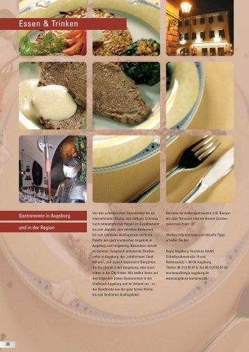 Liste aller Gastronomiebetriebe - Kongress am Park - Augsburg