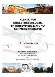 Jahrbuch 2010 - Klinikum Region Hannover GmbH