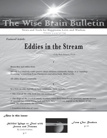 The Wise Brain Bulletin