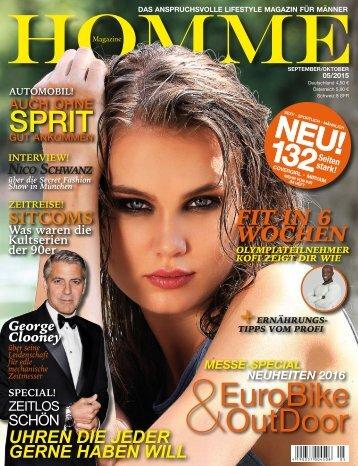 HOMME MAGAZINE Ausgabe 05/2015