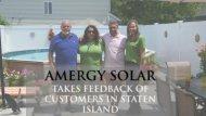 Amergy Solar Takes Feedback of Customers in Staten Island